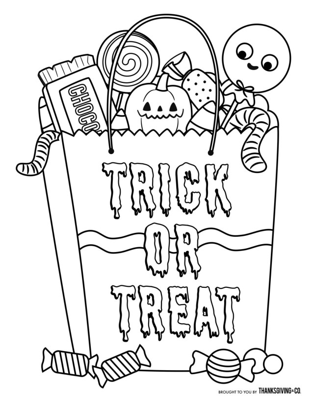Coloring Pages For Halloween Coloring Page Fabulous Halloween Coloring Pages For Toddlers