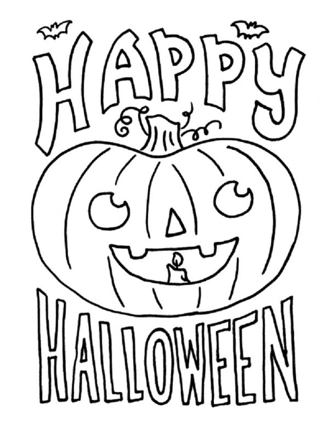 Coloring Pages For Halloween Coloring Pages Halloween Free Printable Online Sheets Arts Painting