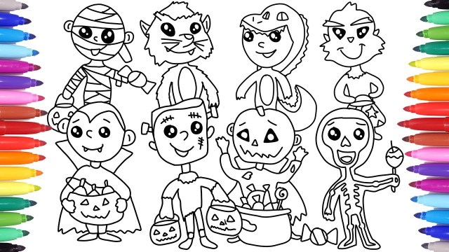Coloring Pages For Halloween Halloween Coloring Pages For Kids Halloween Coloring Book Coloring