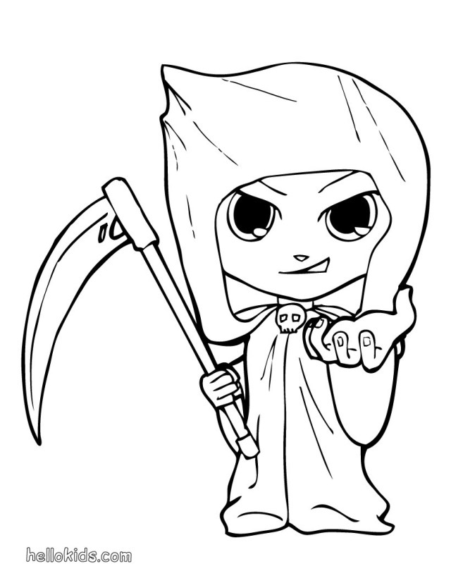 Coloring Pages For Halloween Kids Costumes Coloring Pages 21 Printables To Color Online For