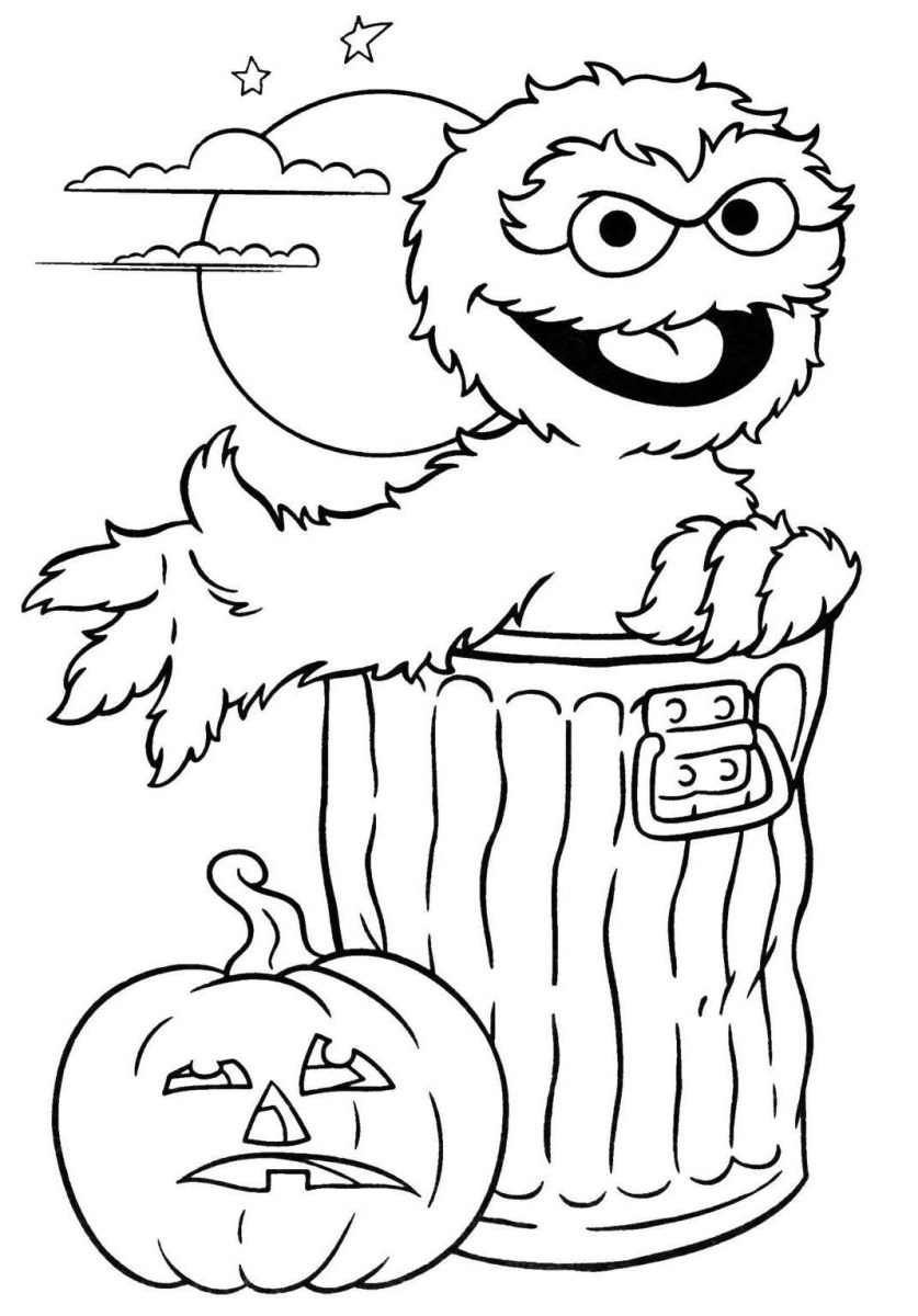 Coloring Pages For Halloween Printable Goosebumps Coloring