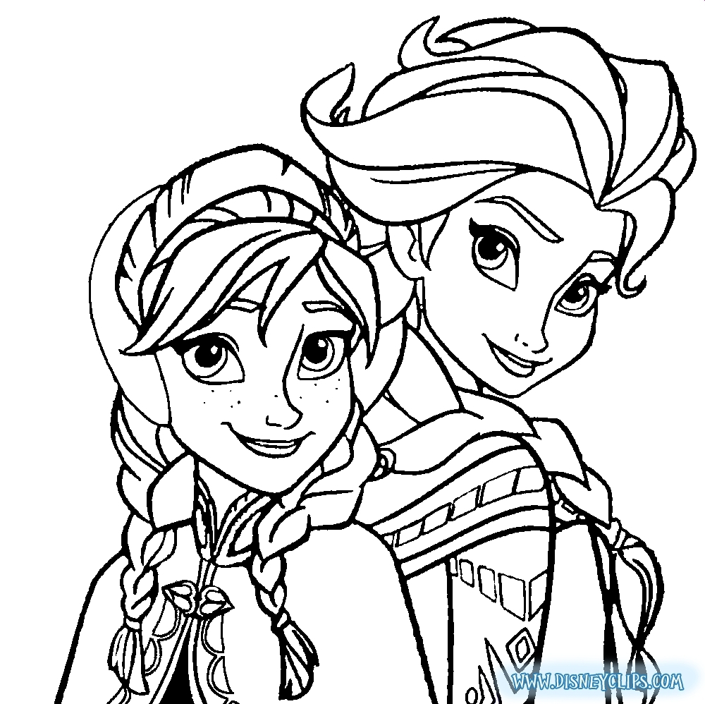 - Coloring Pages Of Elsa Elsa And Anna Coloring Pages 7823 At Vietti