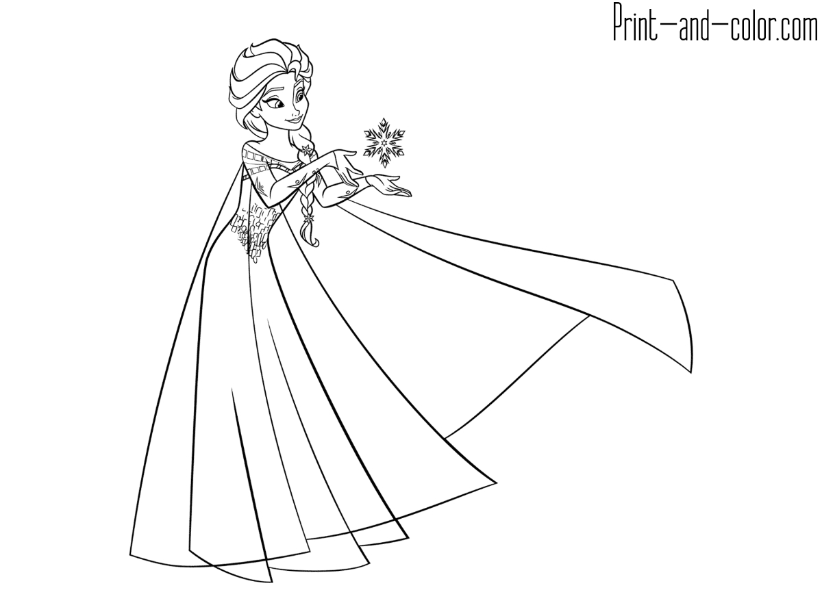 UPDATED] 101 Frozen Coloring Pages + Frozen 2 Coloring Pages | 900x1200