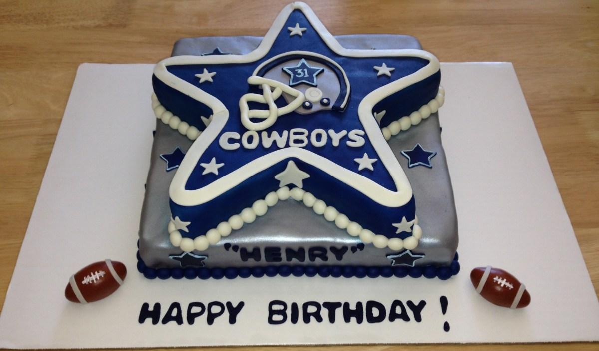 Prime Cowboy Birthday Cake 13 Dallas Cowboys Themed Birthday Cakes Photo Funny Birthday Cards Online Hetedamsfinfo