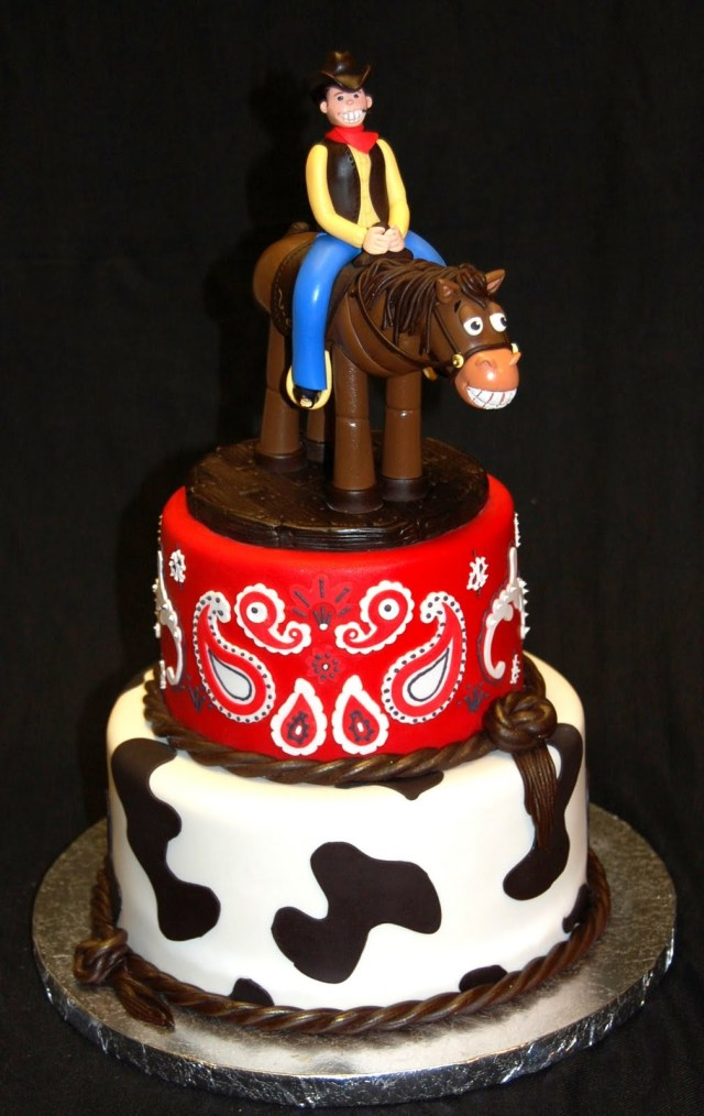 Phenomenal 27 Elegant Picture Of Cowboy Birthday Cake Birijus Com Funny Birthday Cards Online Alyptdamsfinfo