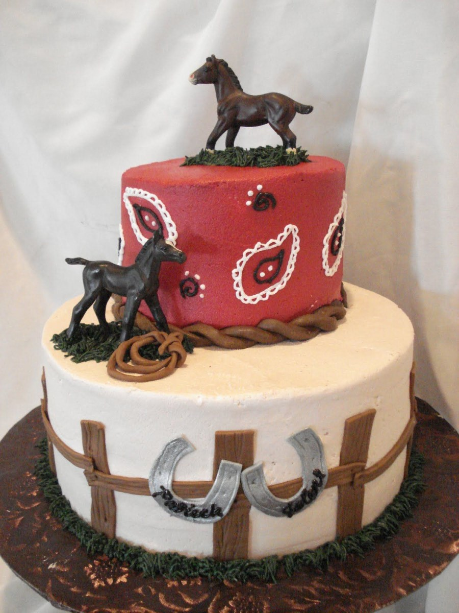 Marvelous Cowboy Birthday Cake Horse Themed Birthday Cakes Google Search Funny Birthday Cards Online Aboleapandamsfinfo