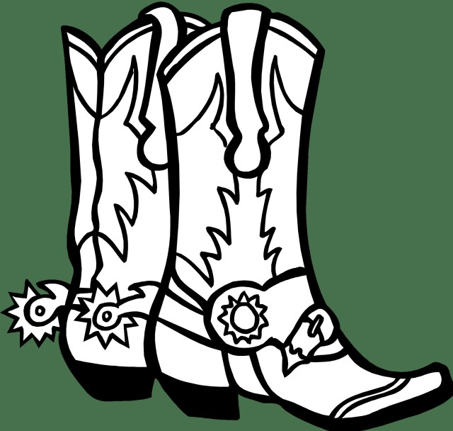 Cowboy Boot Coloring Page Cowboy Boot Coloring Sheets 2019 Open Coloring Pages