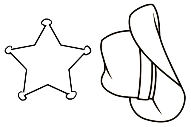 Cowboy Boot Coloring Page Cowboy Boots And Hat Drawing At Getdrawings Free For Personal