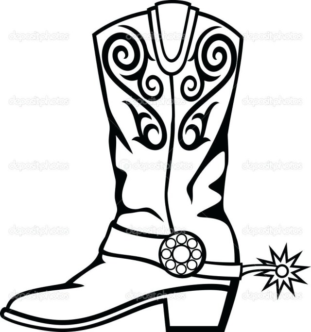 Cowboy Boot Coloring Page Fresh Of Cowboy Boots Coloring Pages To Print Collection Printable