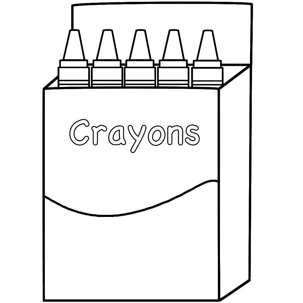 Crayon Coloring Pages Coloring Page Crayon Box Colorings ...