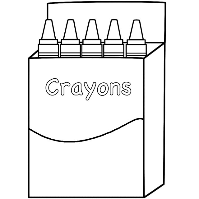 23+ Awesome Photo of Crayon Coloring Pages - birijus.com
