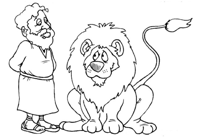 Daniel And The Lions Den Coloring Page Daniel Lions Den Coloring Page Best Of Pin Elvia Roan On Biblia