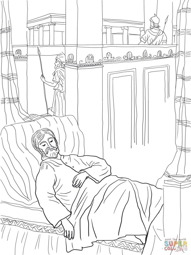 Daniel And The Lions Den Coloring Page Daniel Lions Den Coloring Sheet Unique Solomon Asks For Wisdom
