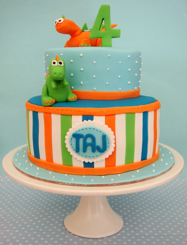 Dinosaur Birthday Cake Butter Hearts Sugar Dinosaur Birthday Cake
