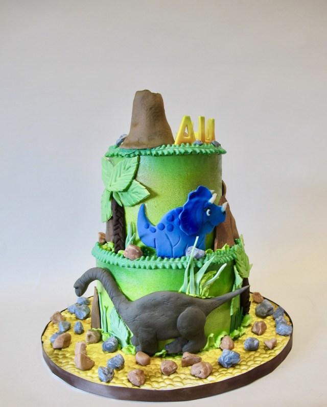 Peachy 32 Excellent Image Of Dinosaur Birthday Cake Birijus Com Funny Birthday Cards Online Eattedamsfinfo