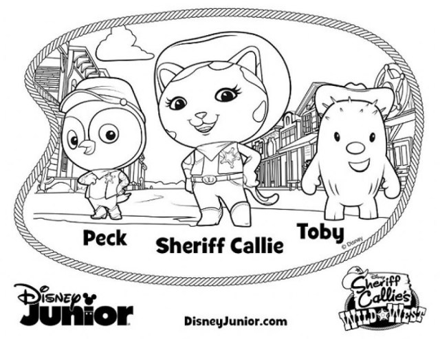 Disney Junior Coloring Pages Disney Jr Coloring Pages Photo Inspirationsle Free Junior