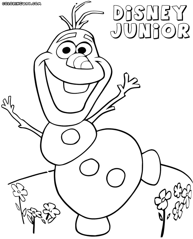 Disney Junior Coloring Pages Disney Junior Coloring Pages 15 Linearts For Free Coloring On Birijus Com