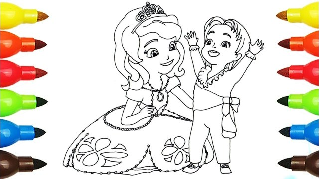 Disney Junior Coloring Pages Sofia The First Princess Sofia Coloring Page L Disney Junior