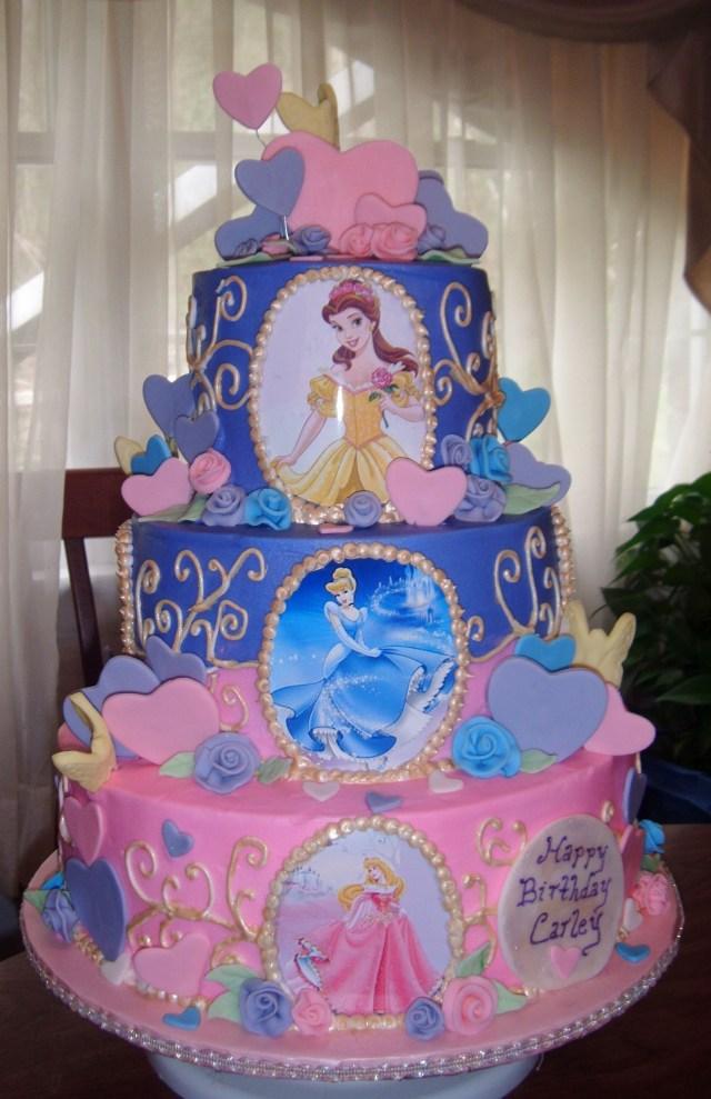 Disney Princess Birthday Cakes Childrens Princesses Cake Ok Who Can Make