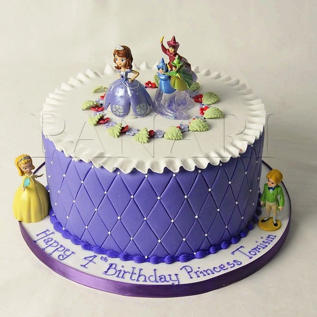 Disney Princess Birthday Cakes Sofia Cake Protoblogr Design