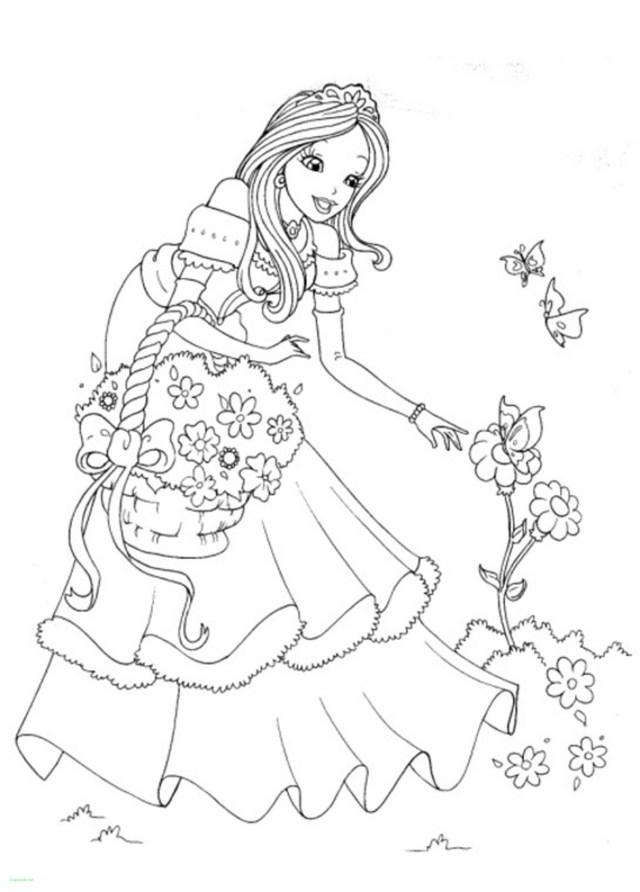 Disney Princess Coloring Page Disney Princess Coloring Pages To Print Rapunzel Unique Lovely