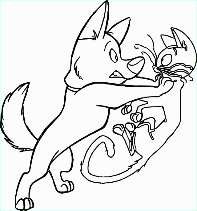 Dog And Cat Coloring Pages Cat Coloring Pages Pdf Admirably Bolt Dog Cat Where Coloring Pages