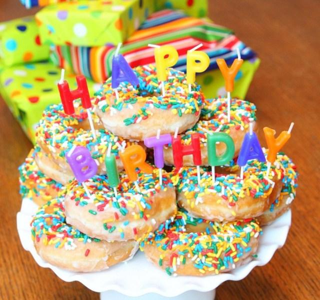 Donut Birthday Cake Donut Birthday Cake Party Ideas Pinterest Birthday Birthday