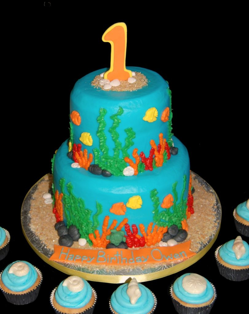 Incredible Dory Birthday Cake Under The Sea Themed Cake Ideas For A Finding Funny Birthday Cards Online Overcheapnameinfo
