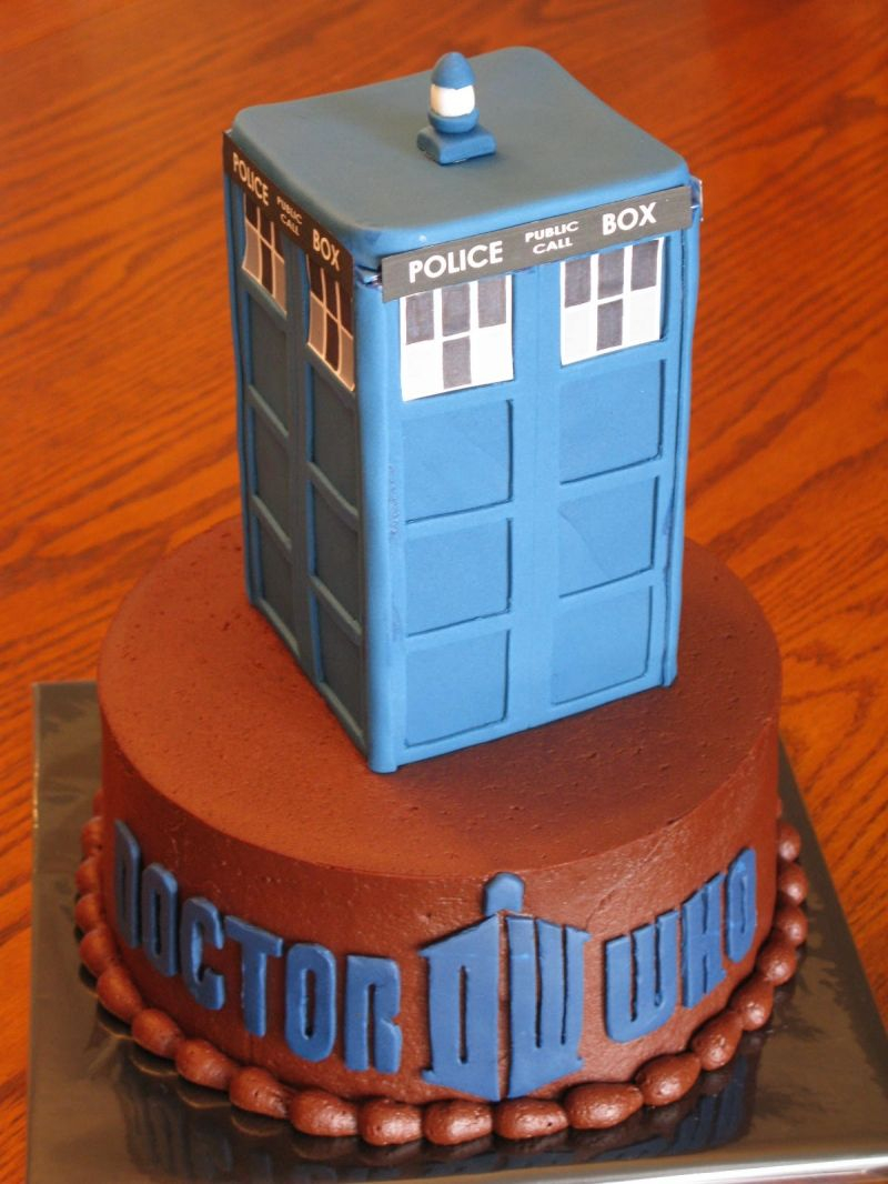 Admirable Dr Who Birthday Cake Dr Who Cake For Brians Bday Dcuisine Doctor Funny Birthday Cards Online Alyptdamsfinfo