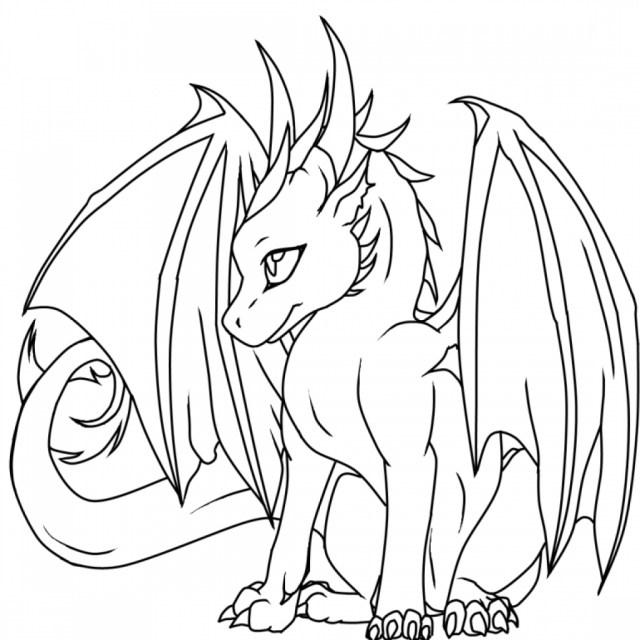 Dragon Coloring Pages For Adults Detailed Dragon Coloring Pages For Adults Online Realistic Stuff