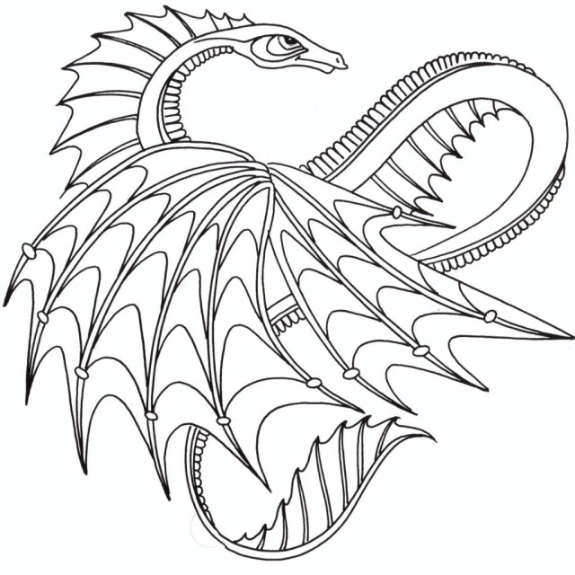 Dragon coloring pages | Free Coloring Pages | 640x640