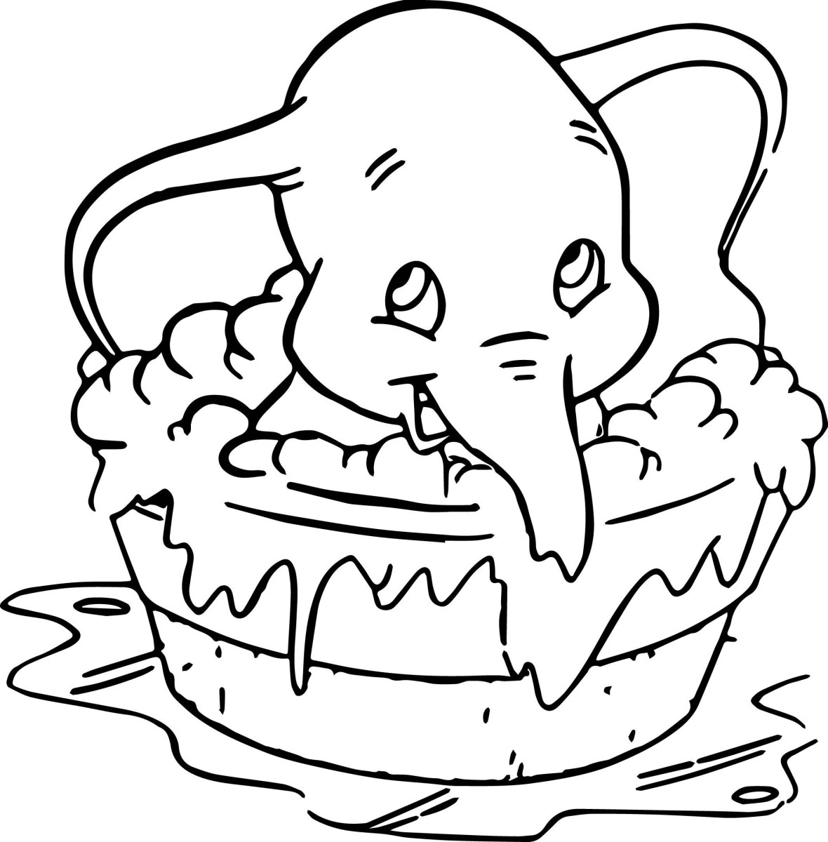 Dumbo Coloring Pages Coloring Page Dumbo Coloring Pages Extraordinary Page Ultra