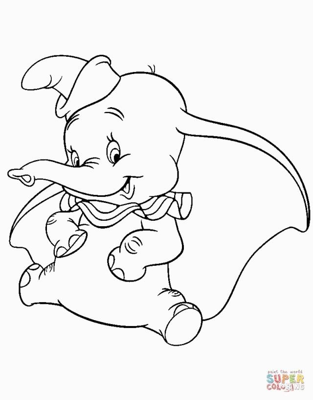 Dumbo Coloring Pages Dumbo Coloring Pages Wwwpicturesvery