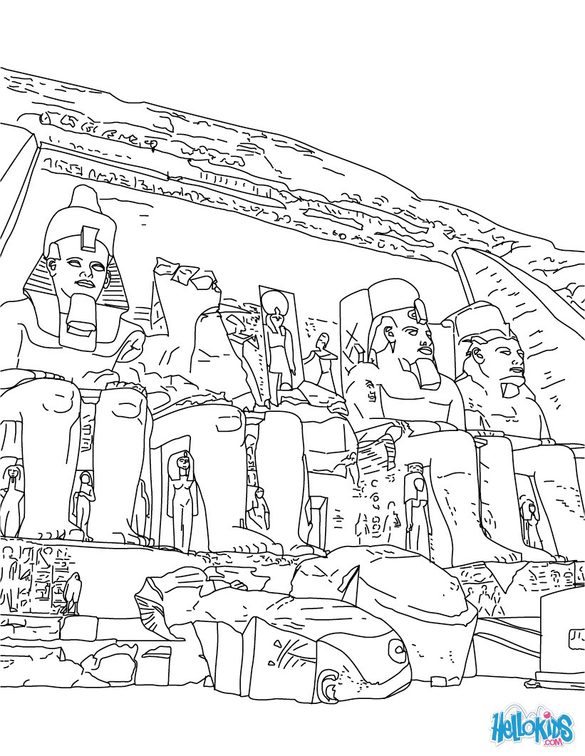 Egyptian Coloring Pages Egypt Coloring Pages Coloring Pages Printable Coloring Pages