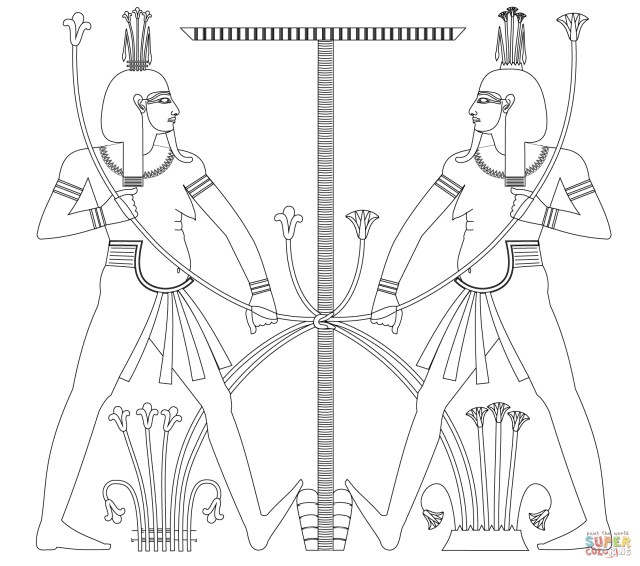 Egyptian Coloring Pages Egypt Coloring Pages Free 16201433 Attachment Lezincnyc