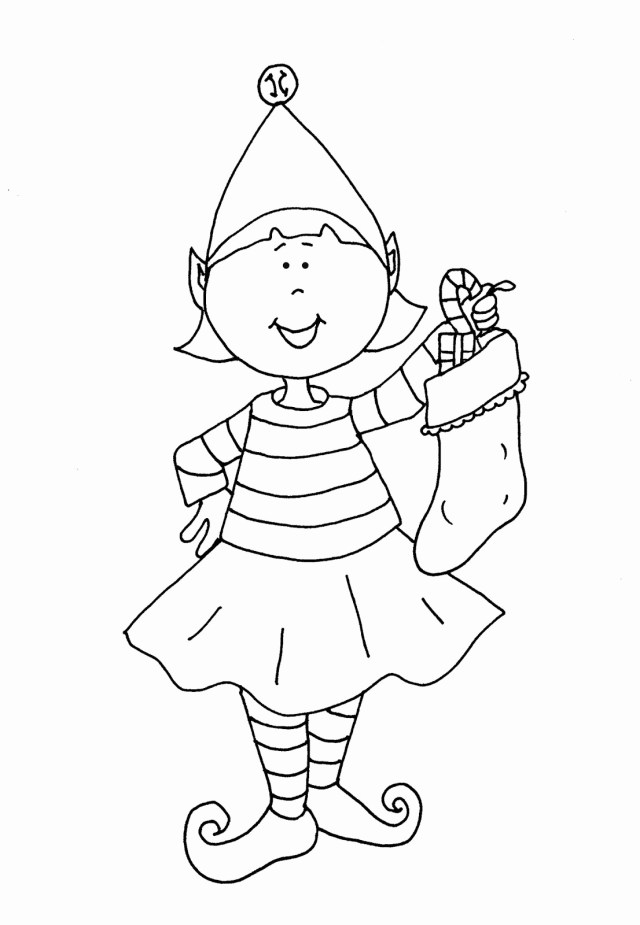 Elf On The Shelf Coloring Pages Elf On Shelf Coloring Pages Csengerilaw