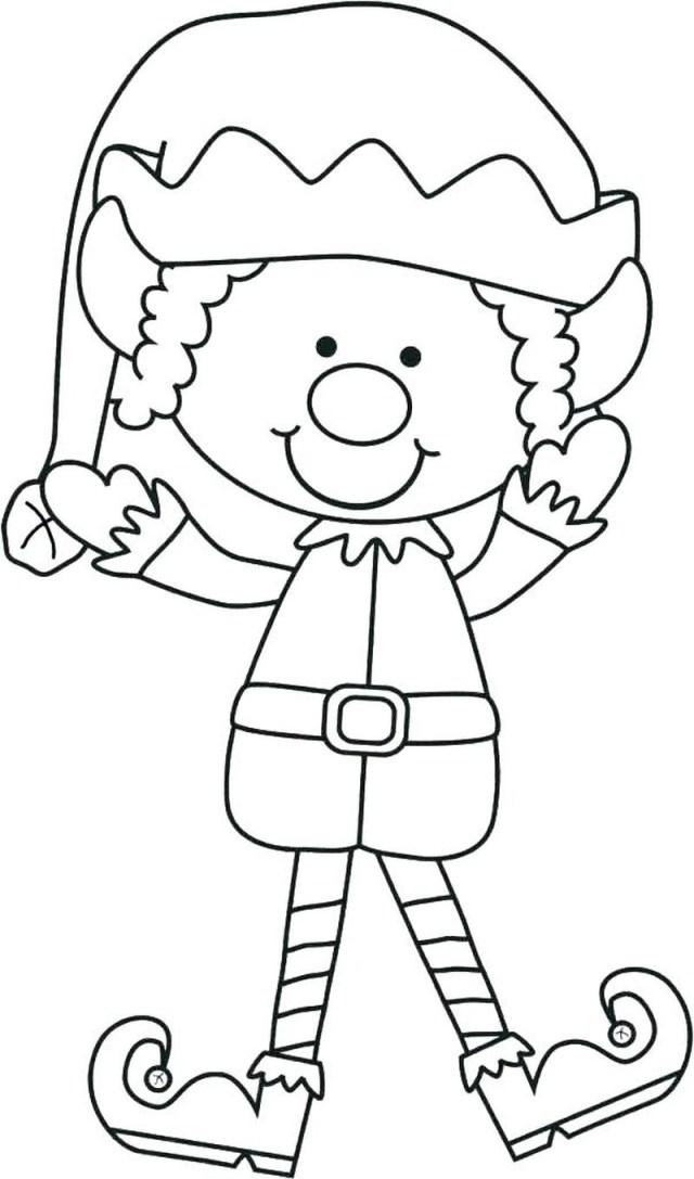Elf On The Shelf Coloring Pages Elf On The Shelf Coloring Pages Printable 1 Free Coloring Sheets