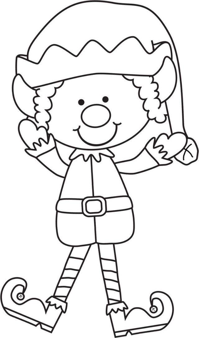 Elf On The Shelf Coloring Pages Elf On The Shelf Coloring Pages Quickly Deeptown Linear Get