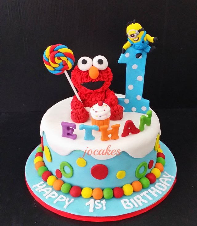 Elmo Birthday Cakes Elmo Birthday Cakes