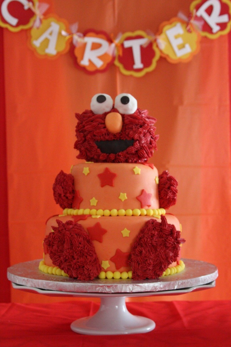Incredible Elmo Birthday Cakes Pin Angela Lanzetta On Birthday Party Ideas In Personalised Birthday Cards Veneteletsinfo