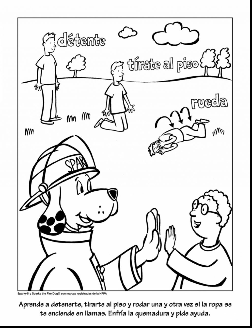 - Fire Safety Coloring Pages Inspiring Fire Safety Coloring Pages