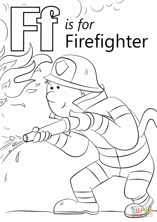 Firefighter Coloring Pages Firefighter Coloring Pages Best Of Image Coloring Pages Firefighters
