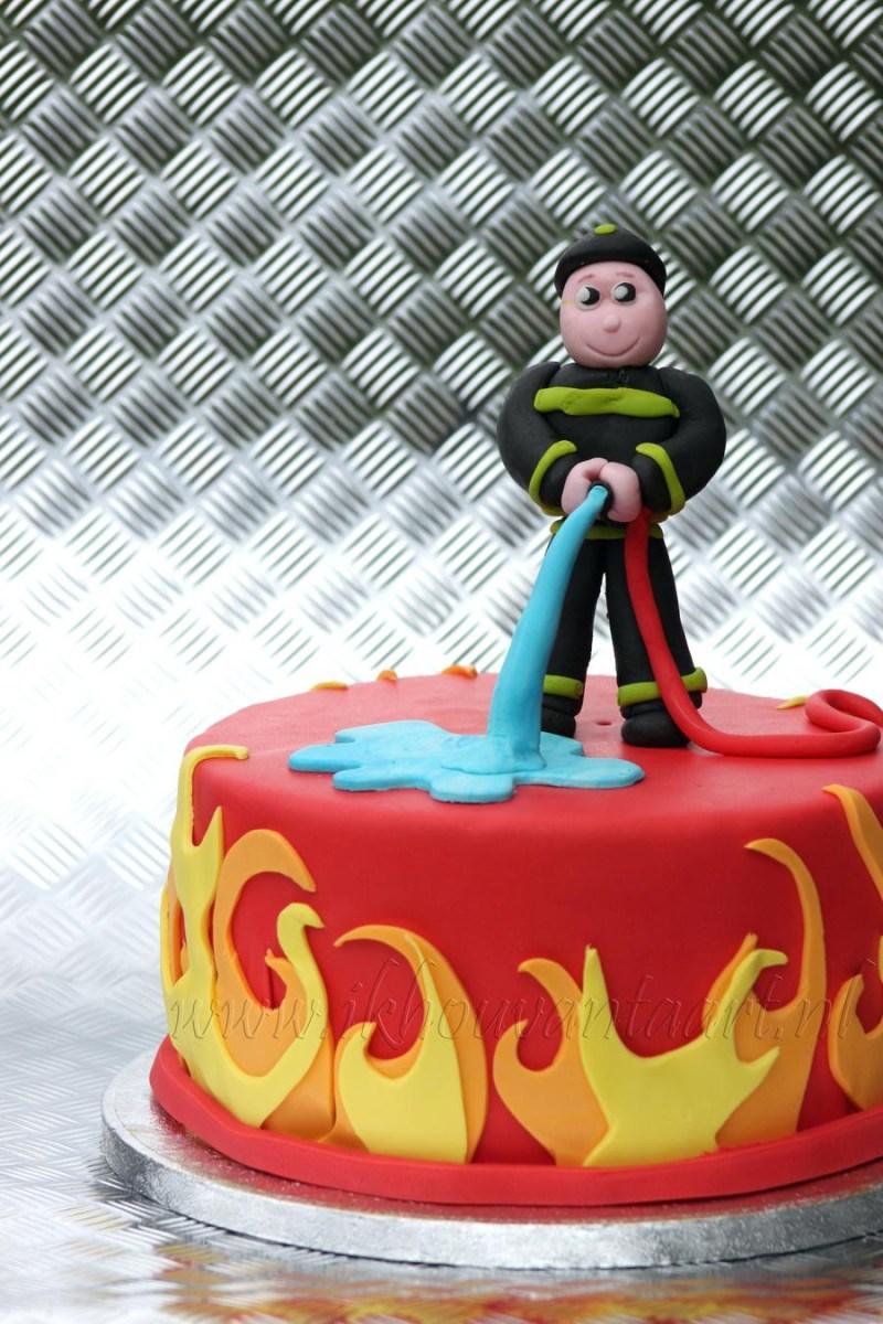 Pleasing Fireman Birthday Cake Fireman Birthday Cake Ideas Com Funny Birthday Cards Online Elaedamsfinfo