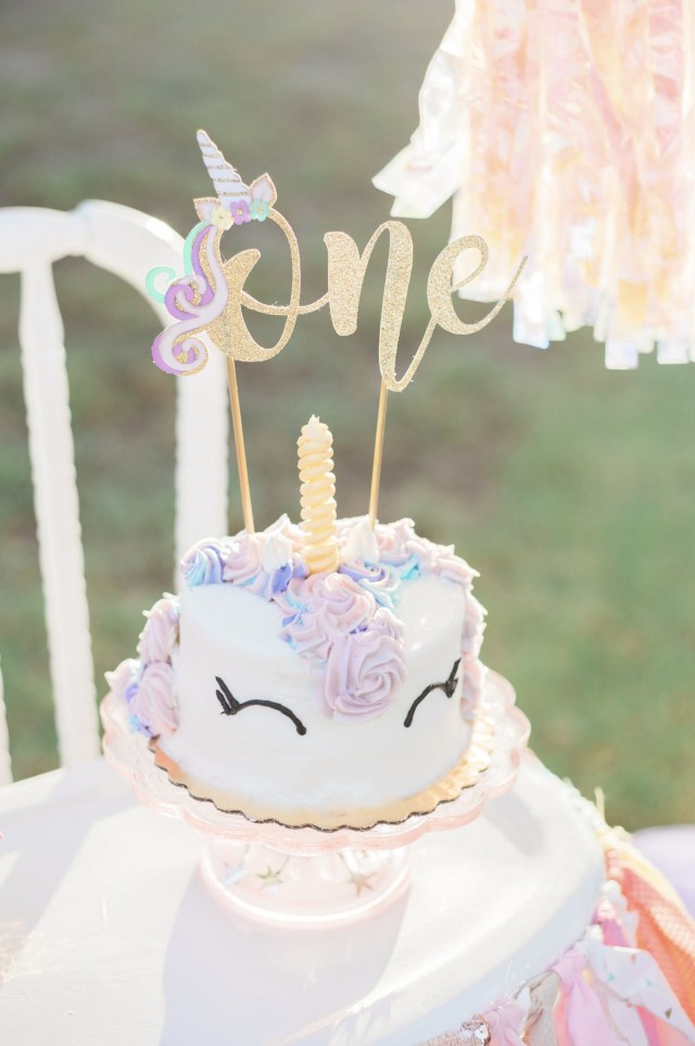First Birthday Cake Toppers Unicorn First Birthday Cake Topper Gold Glitter Unicorn First