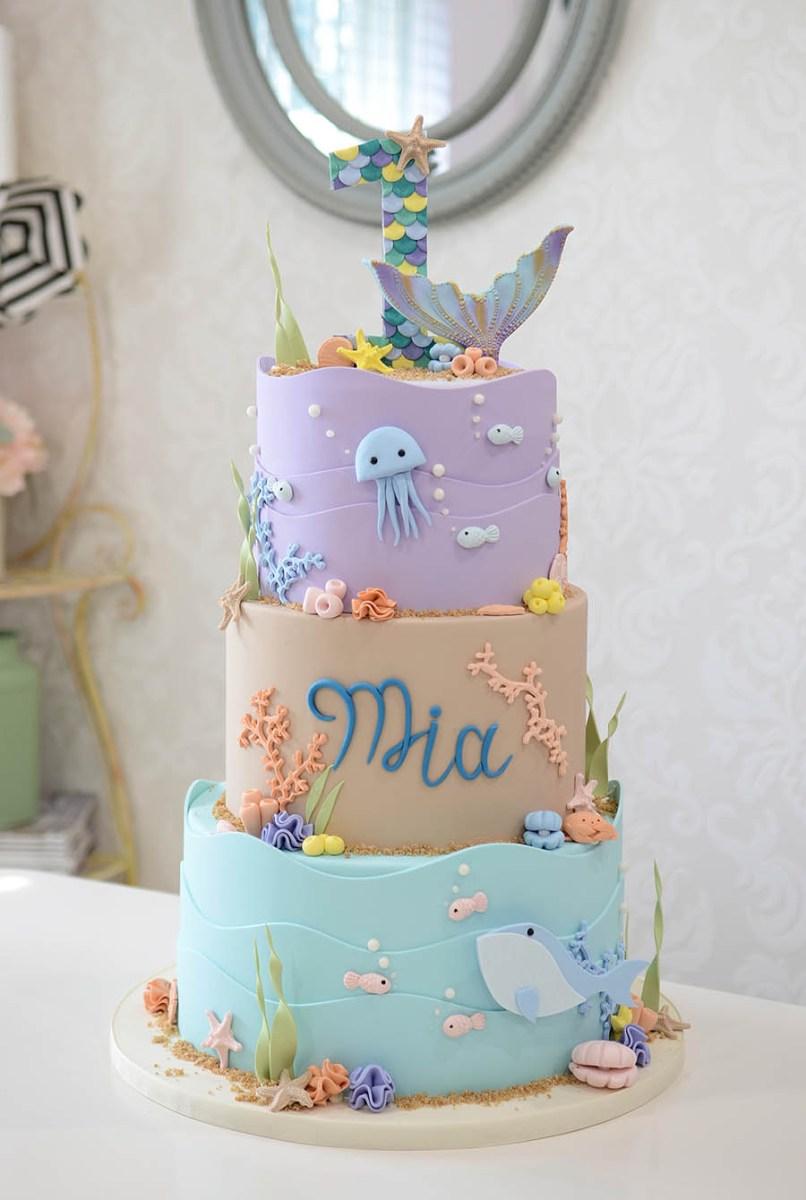 Phenomenal First Birthday Cakes 1St Birthday Cakes First Birthday Cakes Miami Funny Birthday Cards Online Hendilapandamsfinfo