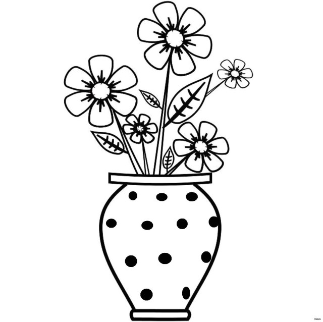 Flower Pot Coloring Page Flower Pot Coloring Coloring Beautiful Cheap Flowers Incredible