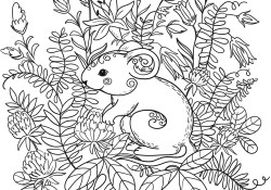 Forest Animals Coloring Pages Forest Animals Coloring Book Free Coloring Pages