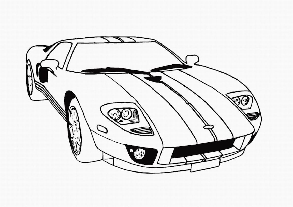 - Free Car Coloring Pages Coloring Page Sports Car Coloring Pages