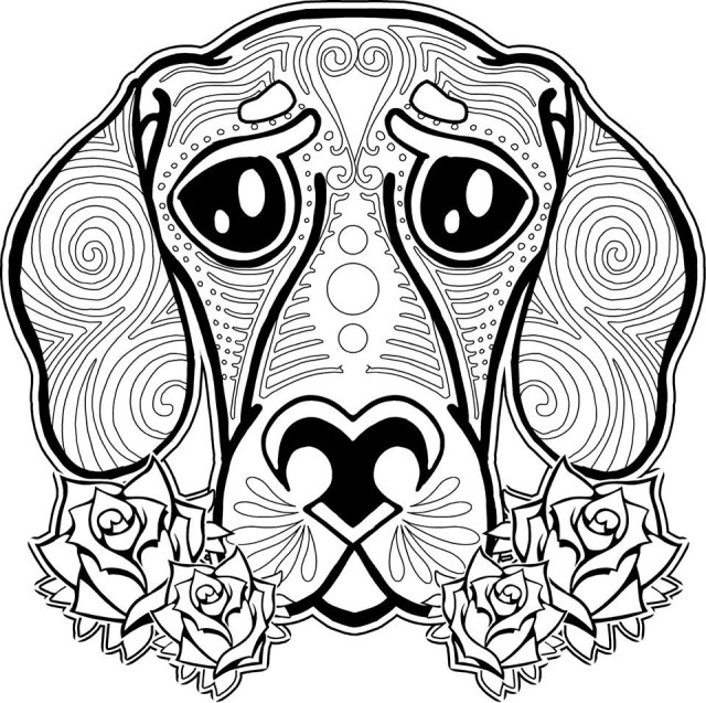 Free Coloring Pages For Adults Adult Coloring Pages Animals Best Coloring Pages For Kids