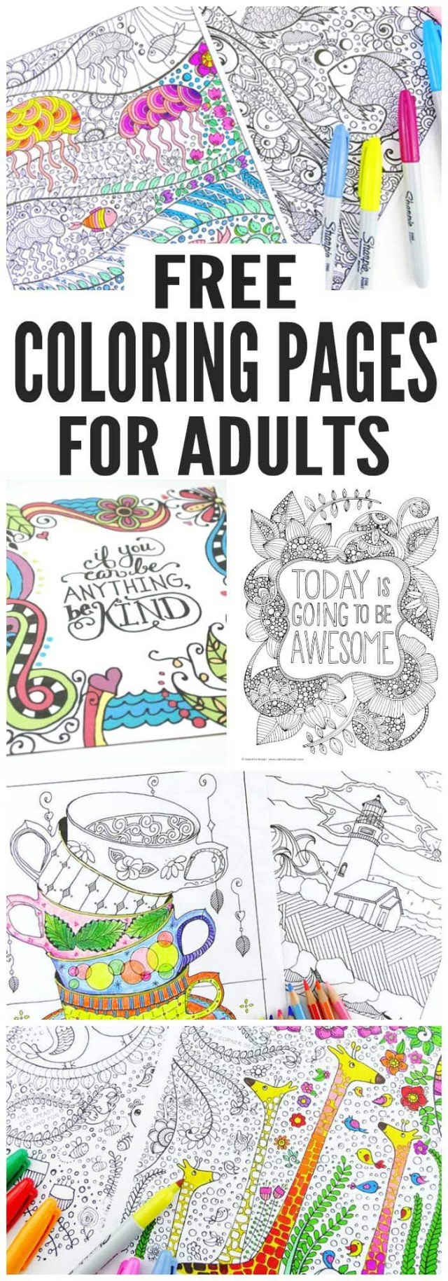 Free Coloring Pages For Adults Free Coloring Pages For Adults Easy Peasy And Fun